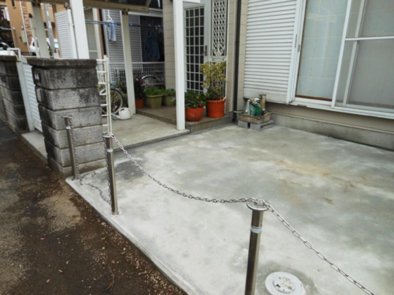 大和市 駐車場のリフォーム