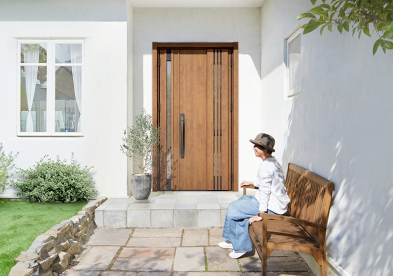 リシェント玄関リフォーム(リシェント玄関ドア3)